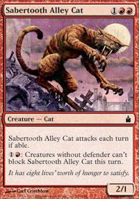 Sabertooth Alley Cat