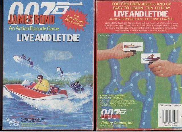 007 James Bond - Live and Let Die
