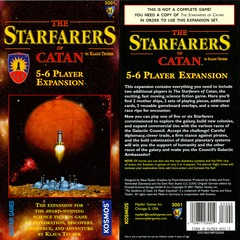 Starfarers of Catan 5-6 Player Expansion