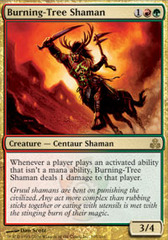 Burning-Tree Shaman on Channel Fireball