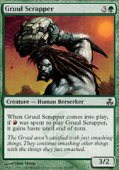 Gruul Scrapper on Channel Fireball