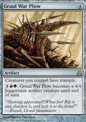 Gruul War Plow on Channel Fireball