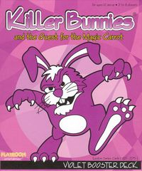 Killer Bunnies and the Quest for the Magic Carrot VIOLET Booster