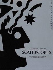 Scattergories Platinum Edition