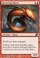 Battering Sliver on Channel Fireball