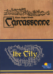 Carcassonne: The City (Wooden Box)