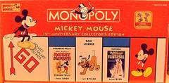 Monopoly - Mickey Mouse 75th Anniversary