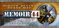 Memoir '44 - Winter/Desert Board Map