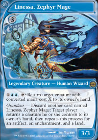 Linessa, Zephyr Mage