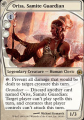 Oriss, Samite Guardian