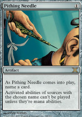 Pithing Needle on Channel Fireball
