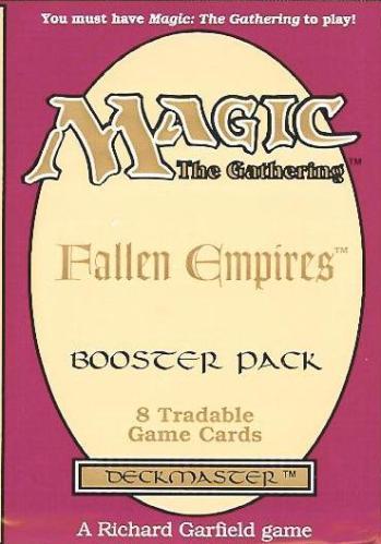 Fallen Empires Booster Pack