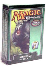 7th Edition Way Wild Theme Deck