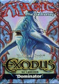 Exodus Dominator Precon Theme Deck