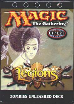 Legions Zombies Unleashed Precon Theme Deck