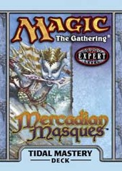 Mercadian Masques Tidal Mastery Precon Theme Deck