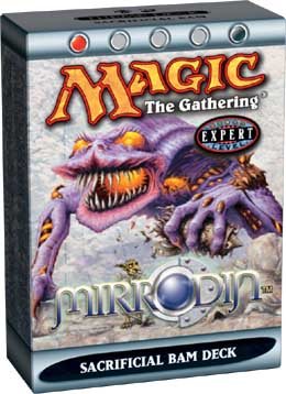 MTG Mirrodin Intro Pack: Sacrifician Bam