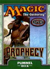 Prophecy Pummel Precon Theme Deck