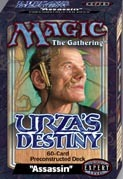 Urza's Destiny Assassin Precon Theme Deck