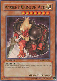 Ancient Crimson Ape - ANPR-EN038 - Common - 1st Edition