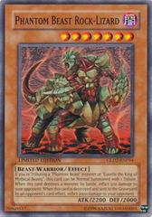 Phantom Beast Rock-Lizard - GLD2-EN014 - Common - Limited Edition