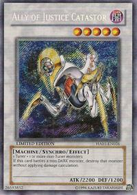 Ally of Justice Catastor - HA01-EN026 - Secret Rare - Limited Edition