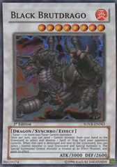 Black Brutdrago - SOVR-EN043 - Super Rare - 1st Edition on Channel Fireball
