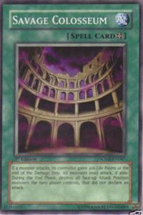 Savage Colosseum - SOVR-EN047 - Common - 1st Edition