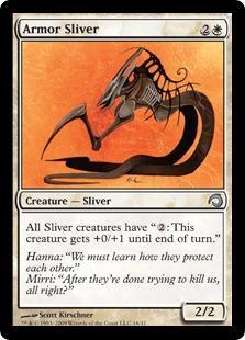 Armor Sliver - Foil