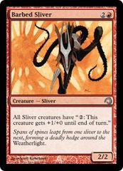 Barbed Sliver - Foil