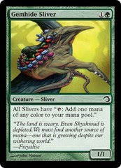 Gemhide Sliver - Foil on Channel Fireball