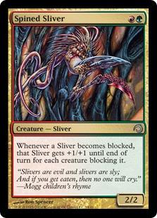 Spined Sliver - Foil