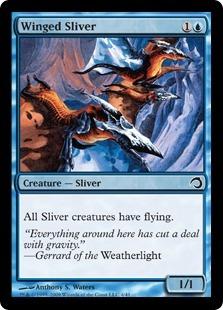 Winged Sliver - Foil