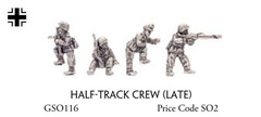 Half-Track Crew (late)