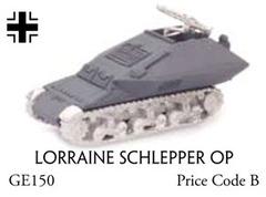 Lorraine Schlepper OP - Self Propelled Artillery