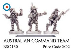 Australian Command Team - Infantry, Command