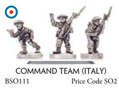 Command Team (Italy) - Infantry, Command