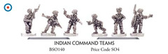 Indian Command Teams - Infantry, Command