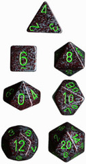 Speckled 7 Dice set (CHX25310) - Earth
