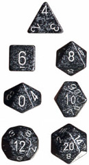 Speckled 7 Dice set (CHX25318) - Ninja