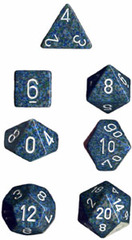Sea Speckled 7 Dice Set - CHX25316