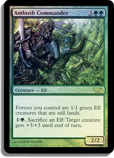 Ambush Commander - Elves Vs. Goblins Foil