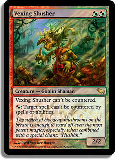 Vexing Shusher - Foil - Launch Promo