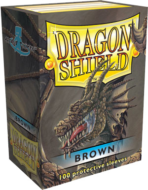 Dragon Shield Classic 100ct Brown