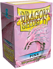 Dragon Shield Sleeves Box of 100 in Pink