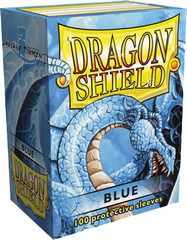Dragon Shield Large Sleeves Blue (100 ct)