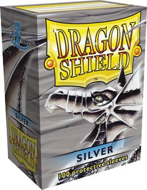 Dragon Shield Box of 100 in Matte Silver