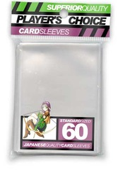 Player's Choice Standard Clear Sleeves