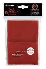 Ultra Pro Standard Deck Protector Sleeves Red 100ct