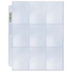 (5) Ultra Pro 9 Pocket Pages
